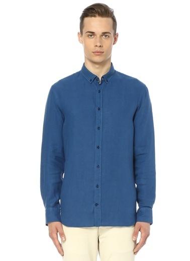 Oxford Yaka Uzun Kollu Gömlek-Gravitas